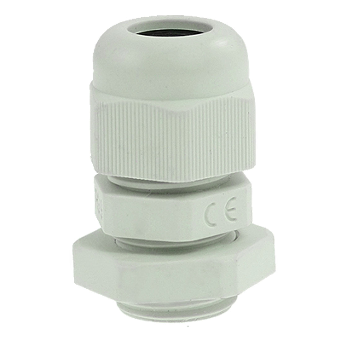 PG9 Gray Plastic Waterproof 4-8mm Diameter Cable Gland Joint