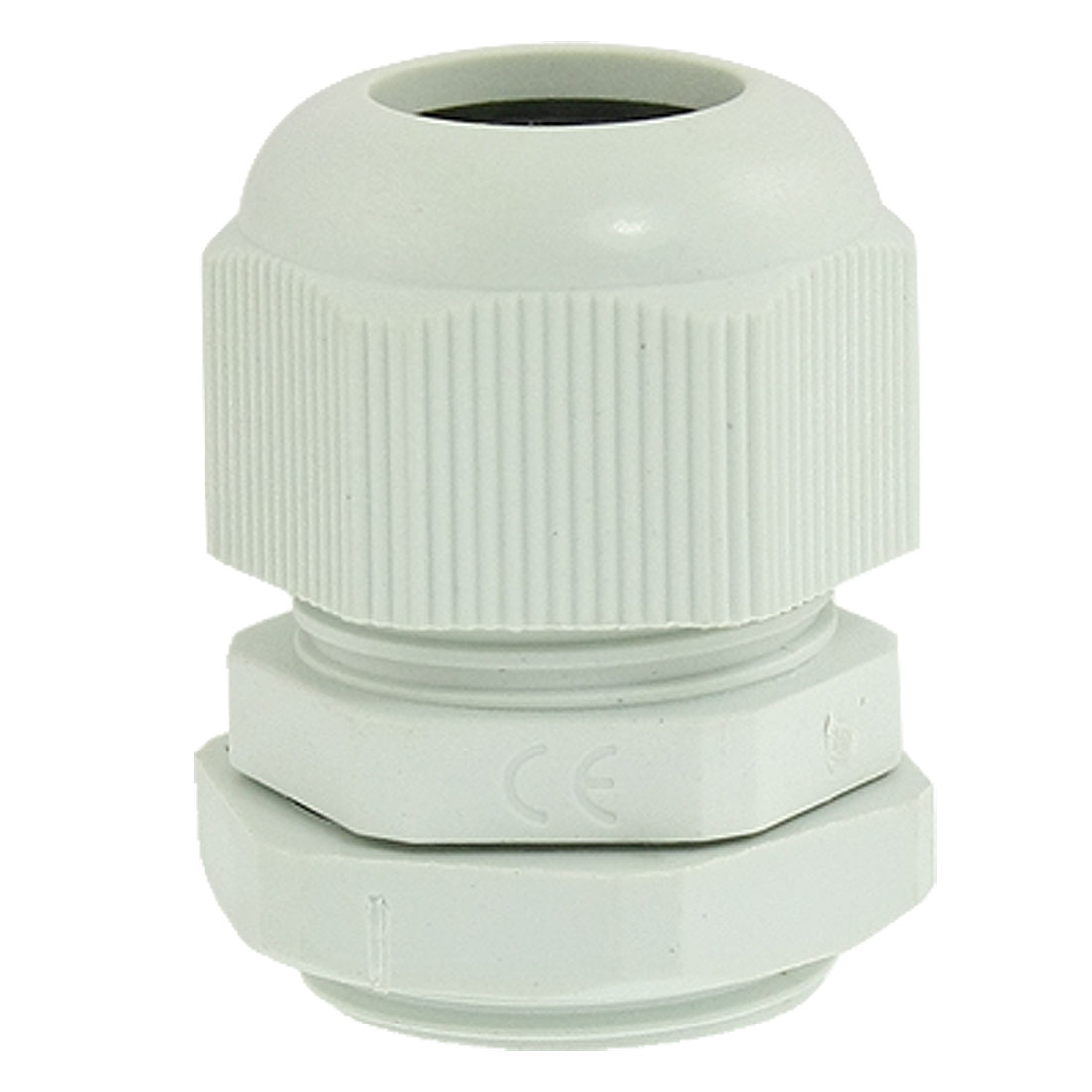 PG16 Gray Plastic Waterproof 10-14mm Diameter Cable Gland Joint