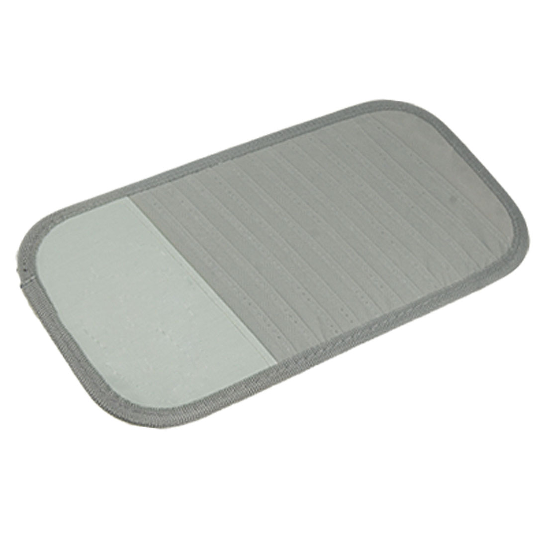 New Grey Car Sun Visor 12 Disc CD DVD Card Case Wallet Storage Holder Organizer