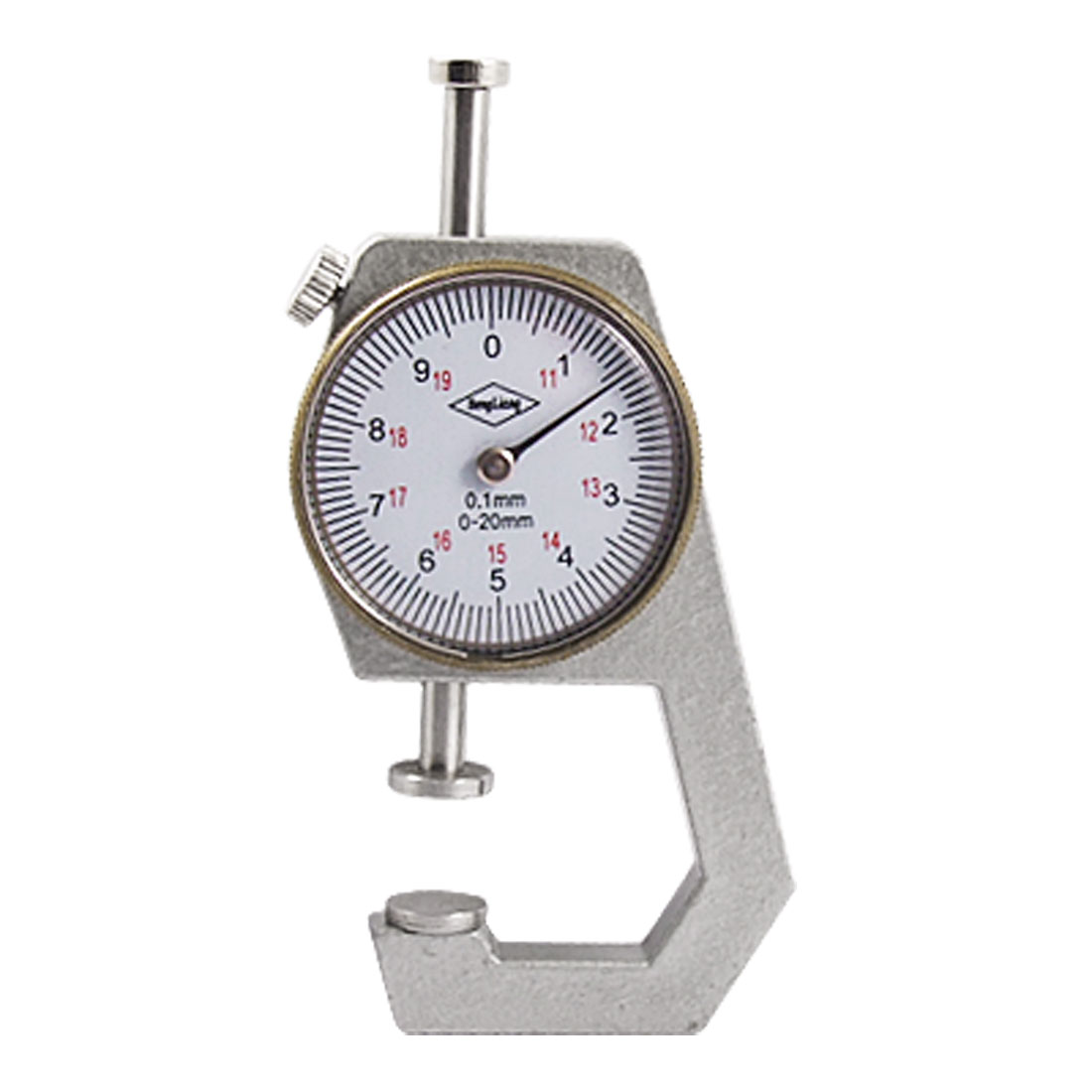 Dial Thickness Gauge Gage Measuring Tool 0 to 20mm