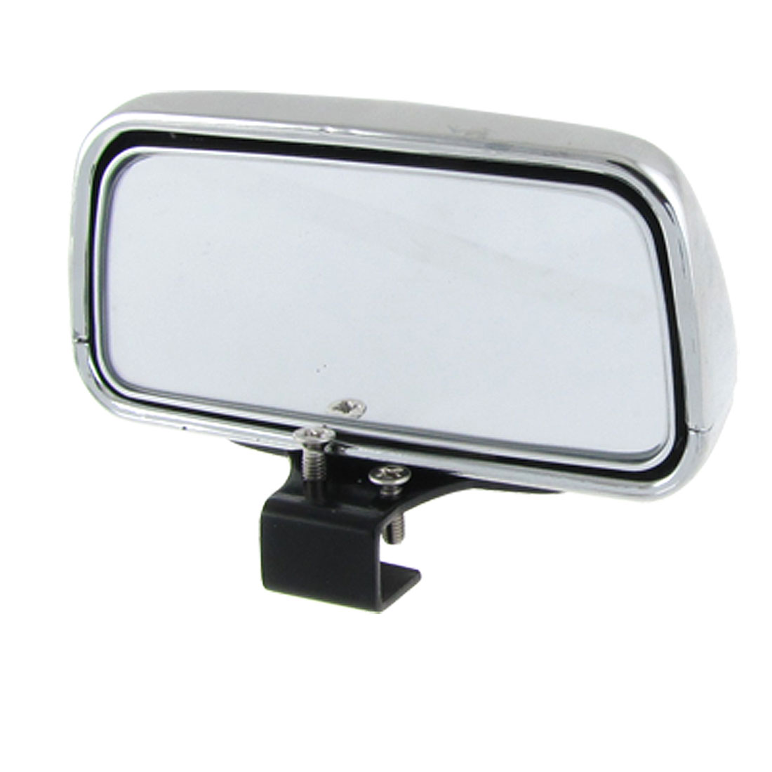 Car Auto Vehicle Auxiliary Rear View Blind Spot Mirror Silver Tone