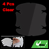 4 Pcs Car Auto Door Handle Cup Scratch Guards Protector Film