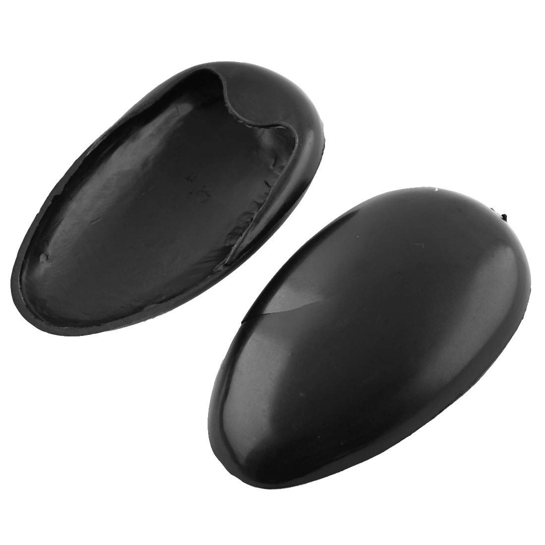 Pair Barber Black Plastic Hair Dye Ear Cover Protector