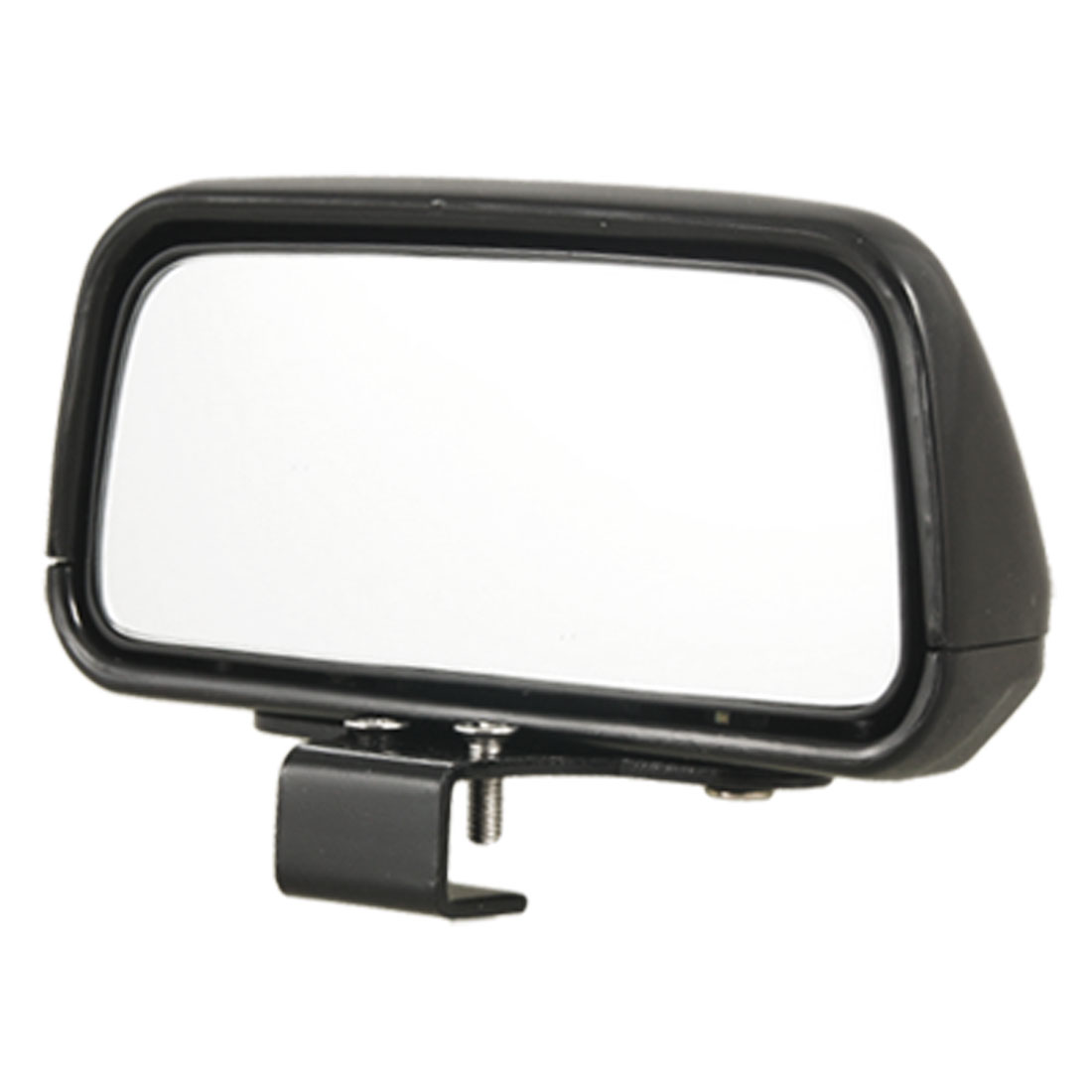 Black Rectangle Auto Car Vehicle Wide Angle Rear View Blind Spot Mirror