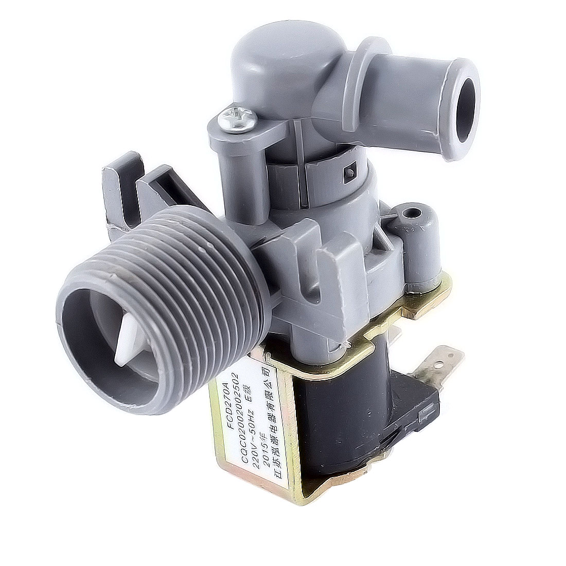 "AC 220V 50Hz 1"" Thread Dia. Water Inlet Solenoid Valve"
