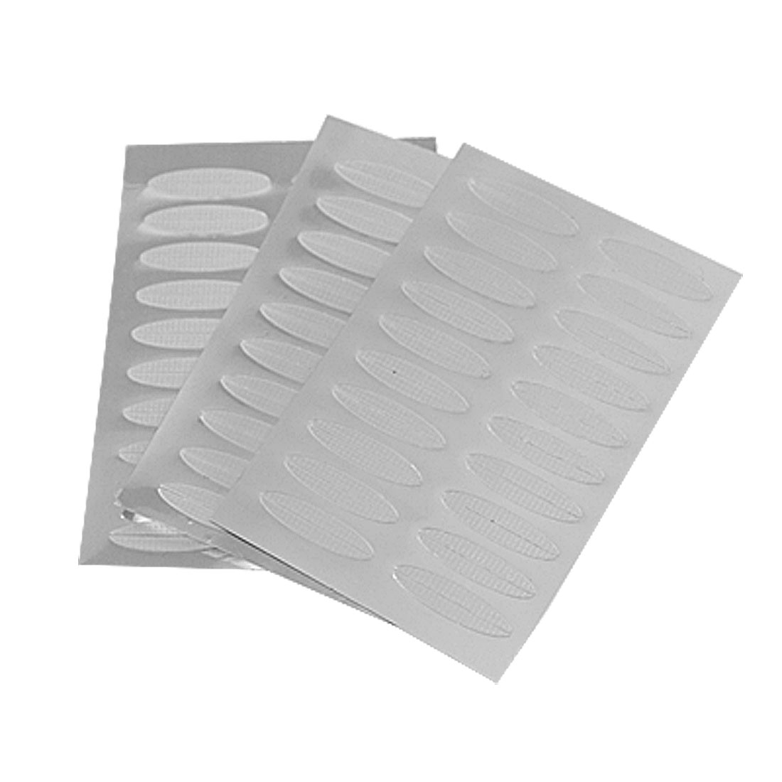 Women Soft Plastic Breathable Double Eyelid Maker Tape Sticker Clear 60 Pairs