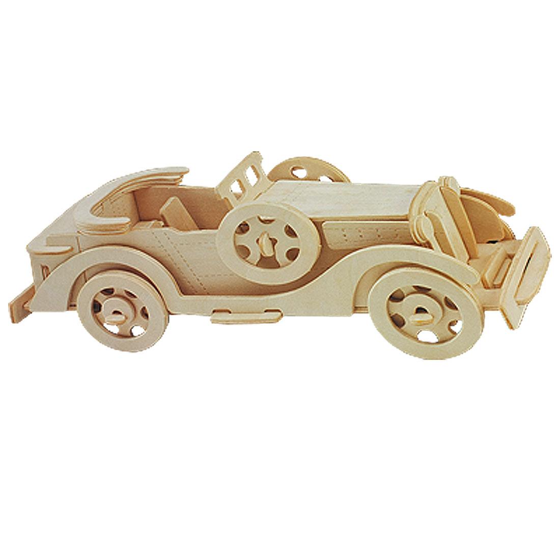 Packard Twelve Model Puzzled 3D DIY Assemble Wooden Kit for Child