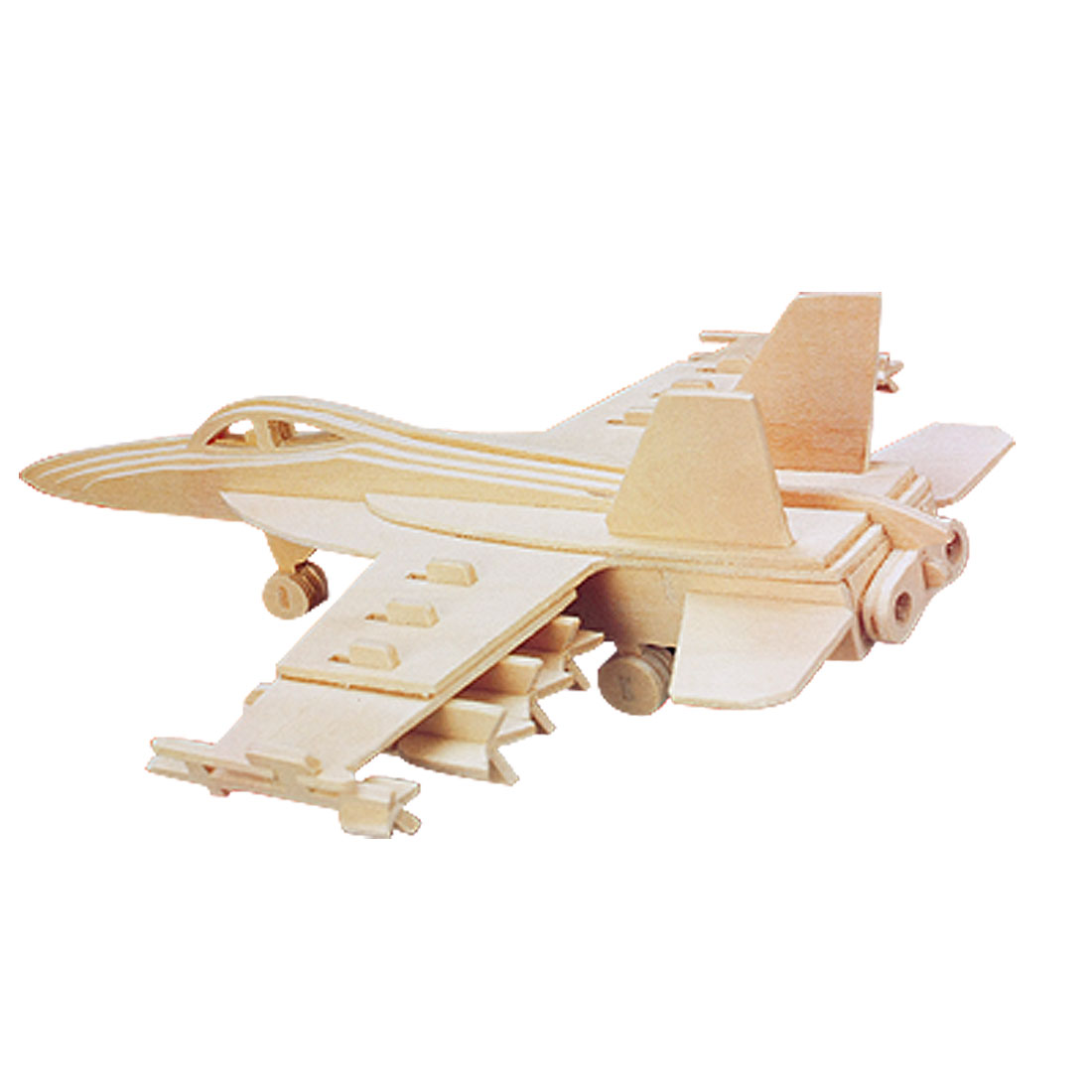 Chidlren F18 Hornet Bomber Woodcraft Construction Kit Gift