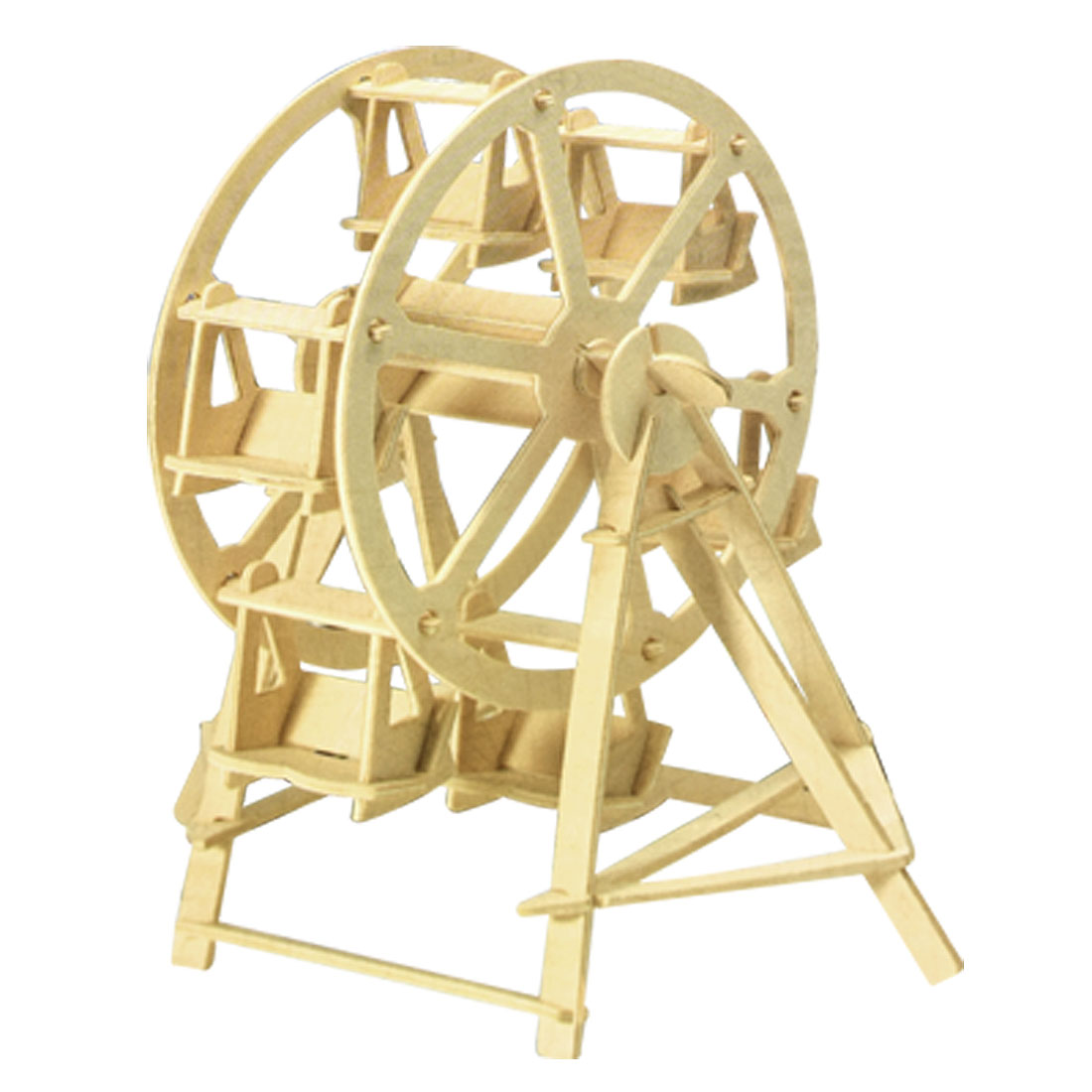 Children Puzzled Ferris Wheel Model 3D Wood Puzzle Toy Construction Kit