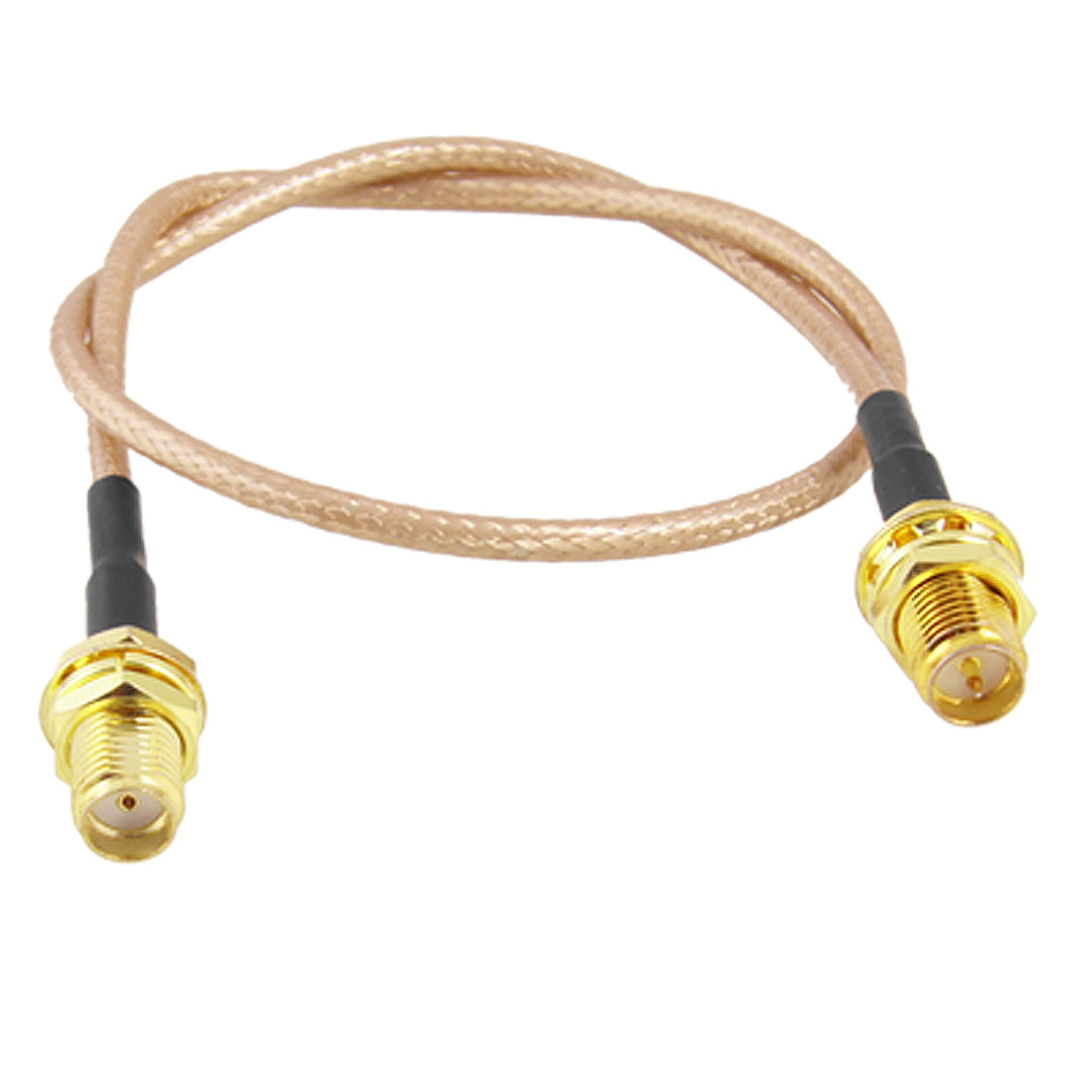 SMA Female to RP-SMA Female RF Connector Pigtail Cable 12.4""