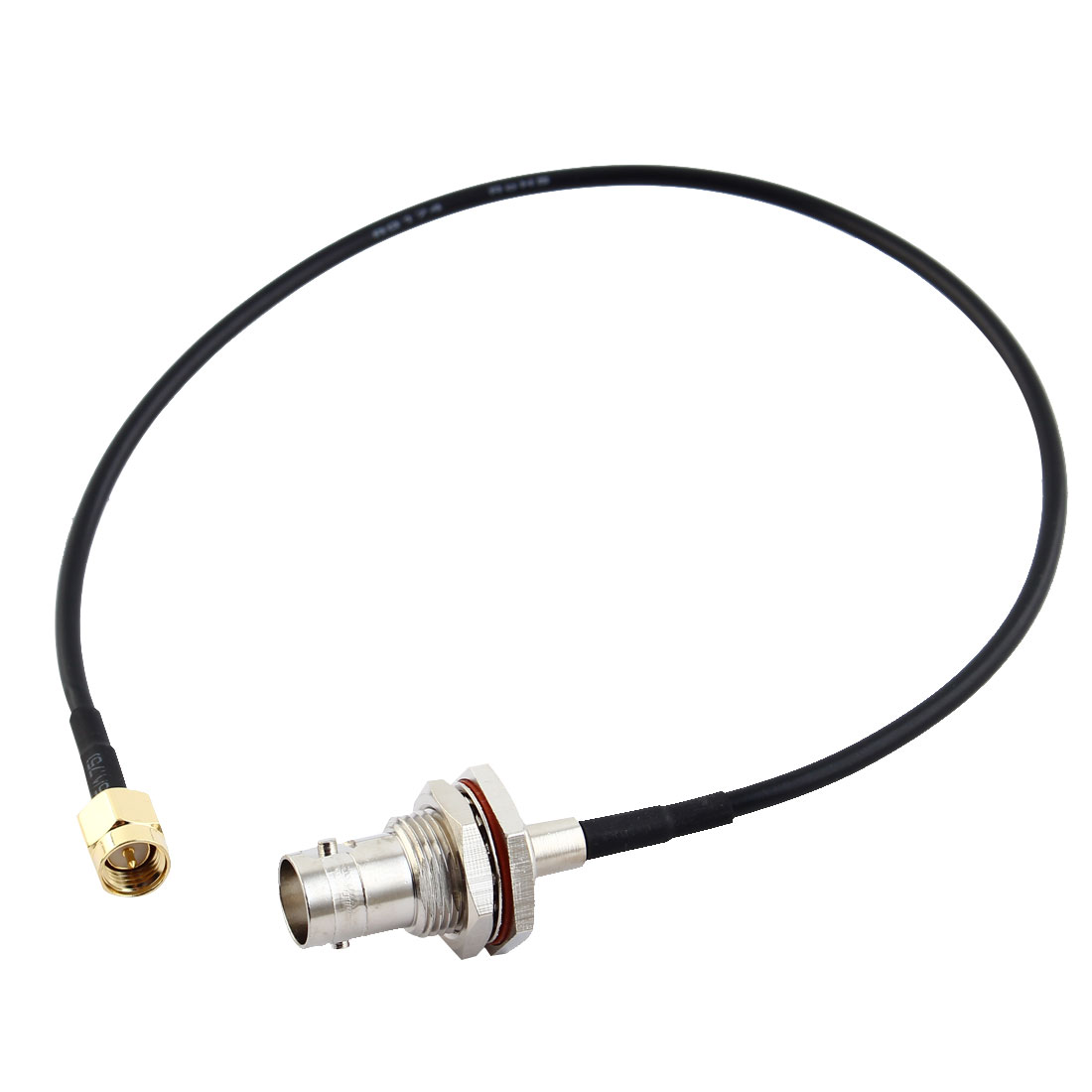 SMA Male to BNC Female Adapter Connector Antenna Pigtail Cable 13 Inch