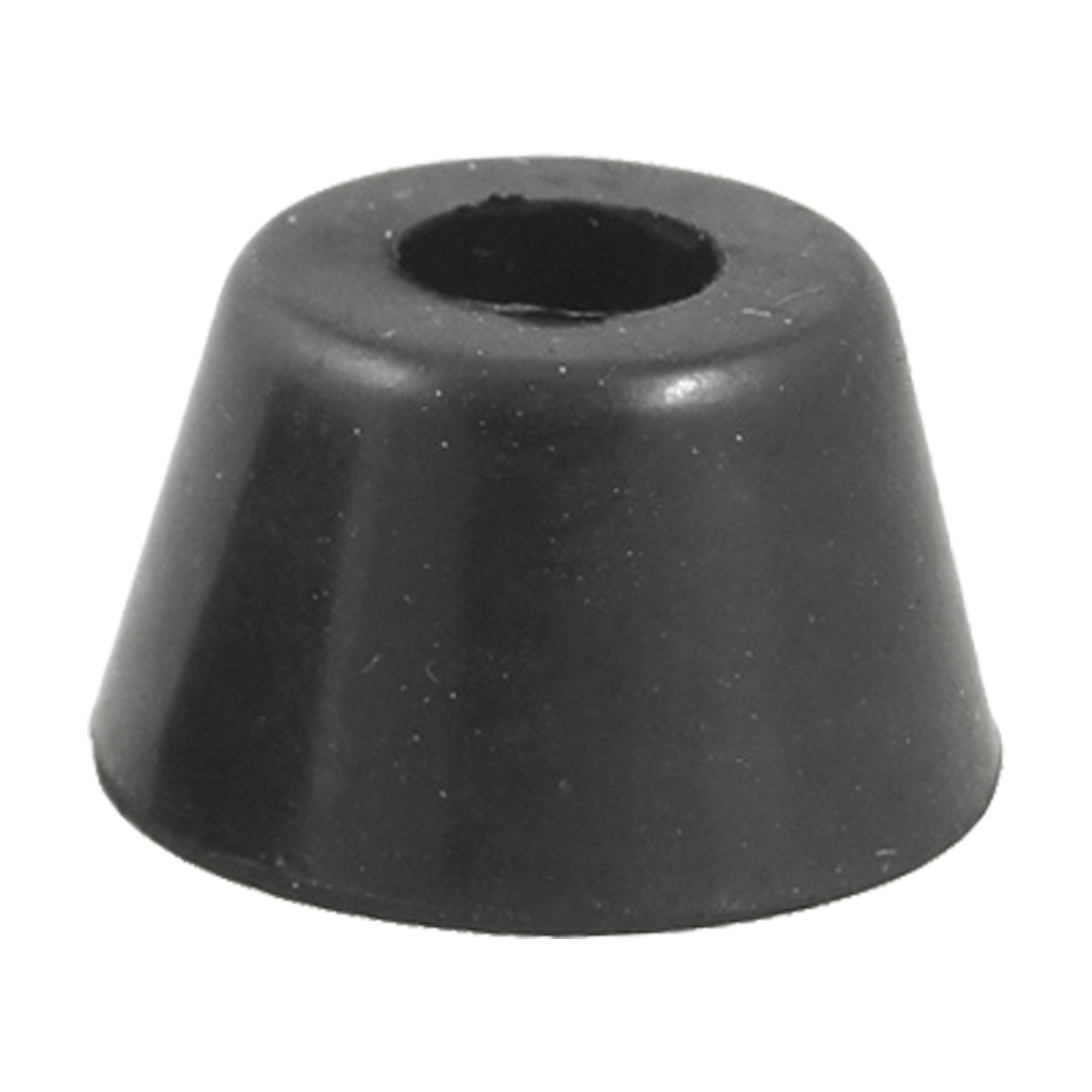 10 Pcs 25mm x 15mm Chair Leg Cone Shape Recessed Rubber Feet Bumpers