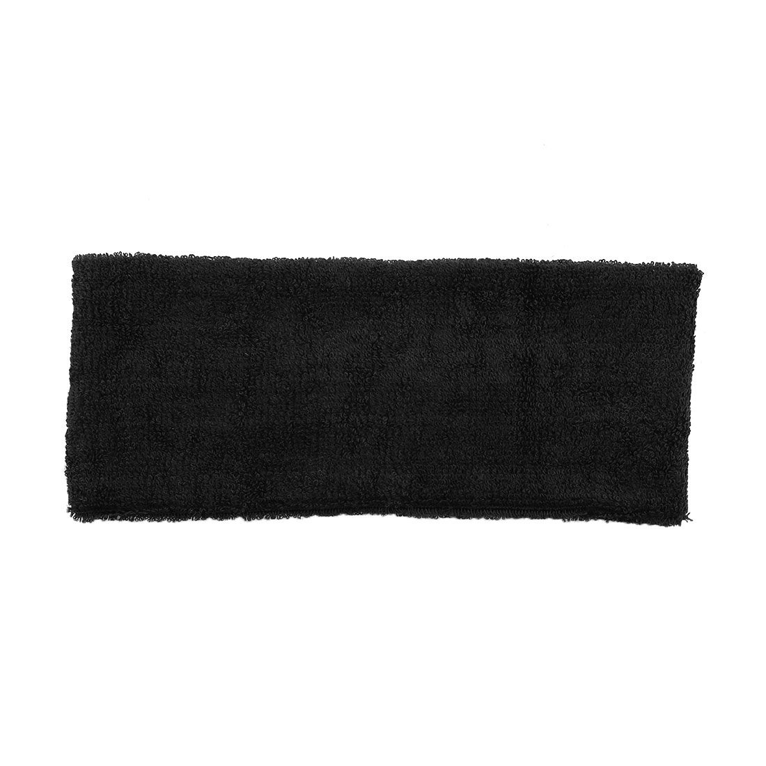 "Basketball Volleyball Stretchy 2.6"" Wide Sweatband Head Band Black"