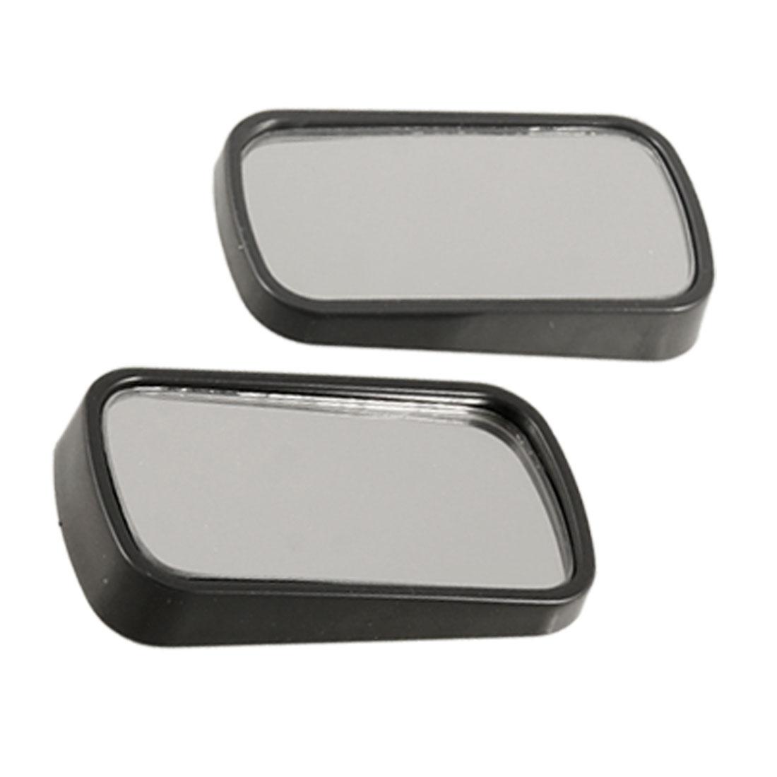 "2 Pcs Car Vehicle Adhesive Rear View Blind Spot Mirror 2.5"" x 1.5"""