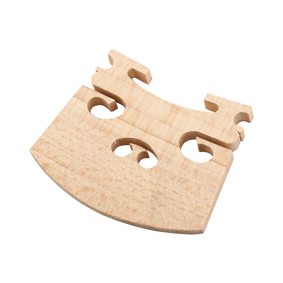 Repairing Parts Musical Wooden Bridge for 4/4 Size Violin