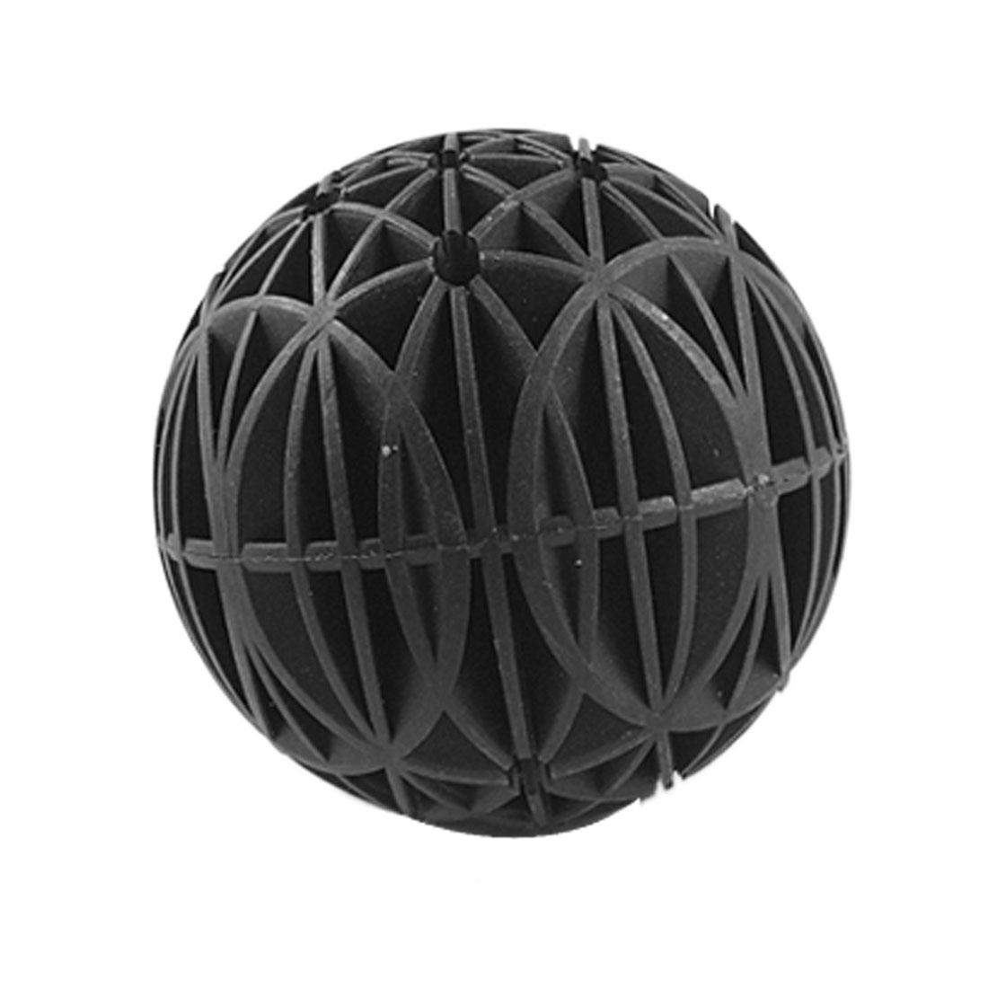 76mm Diameter Bio Ball Filter Media Black for Aquarium Pond
