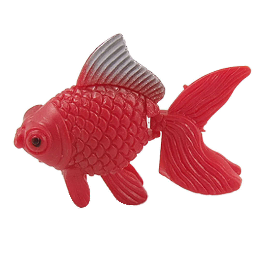4 Pcs Plastic Red Manmade Goldfish Ornament for Aquarium