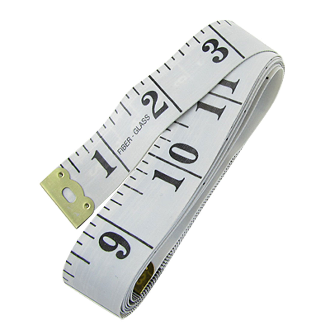 Tailor Seamstress 150cm 60 Inch Tape Measure Fiber Glass Ruler White