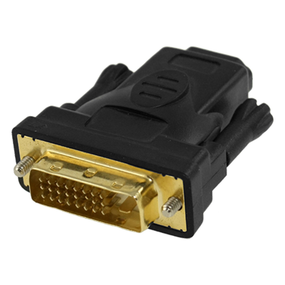 DVI-D Dual Link Male to HDMI Female Video Adapter Connector