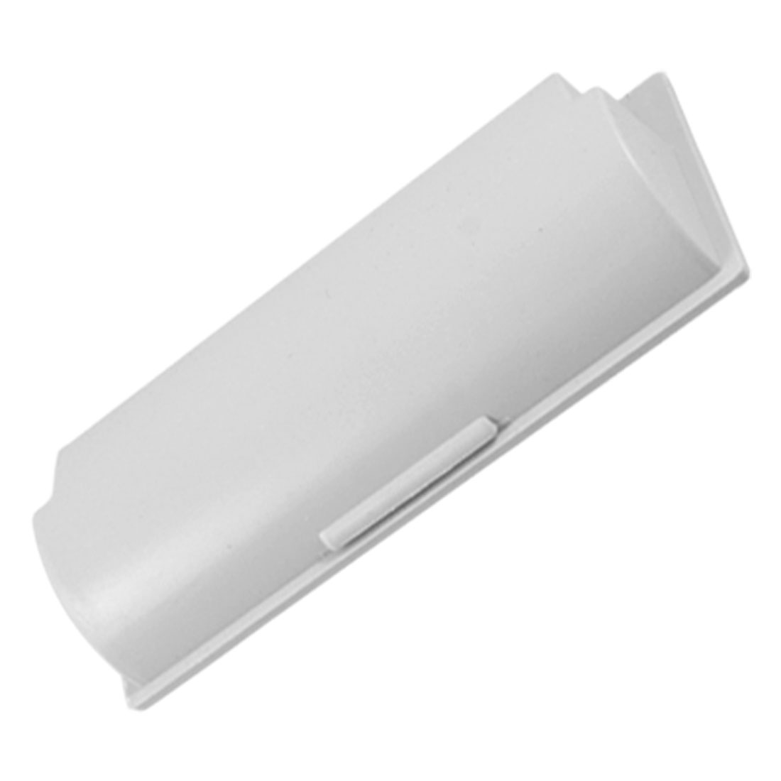 "4.3"" x 1.5"" Plastic Recessed Flush Pull Door Cabinet Drawer Handle Gray"