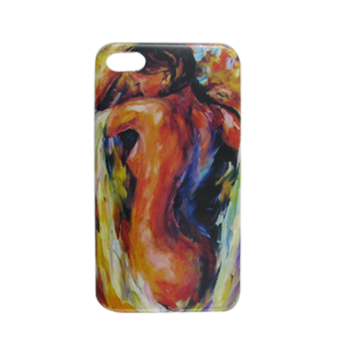 IMD Watercolour Hard Plastic Back Case for iPhone 4 4G 4S