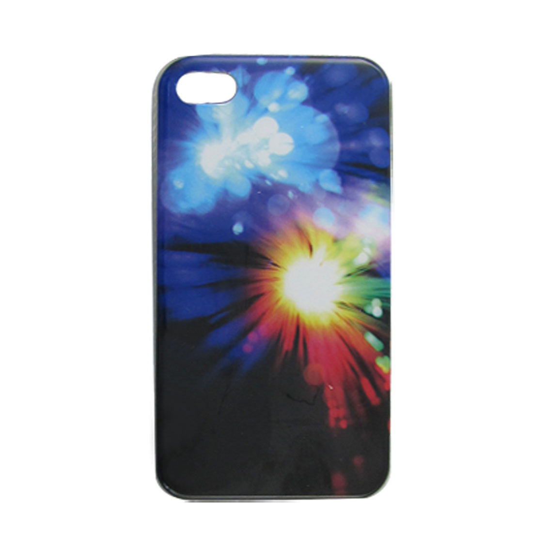 Hard Plastic IMD Sunshine Pattern Back Case for iPhone 4 4G 4S