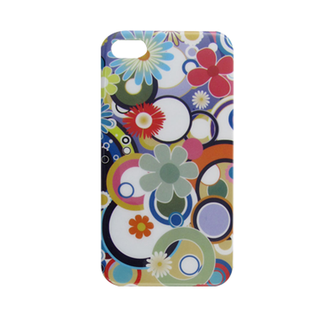 IMD Retro Circle Hard Plastic Back Case for iPhone 4 4G 4S