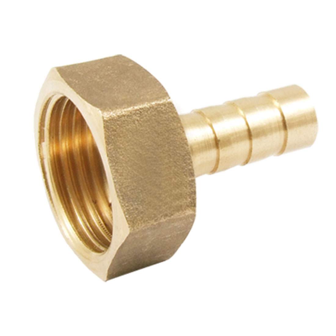 "5/16"" Water Gas Air Hose Barb x 1/2"" PT Thread Brass Fitting Female Barbed Adapter Connector"