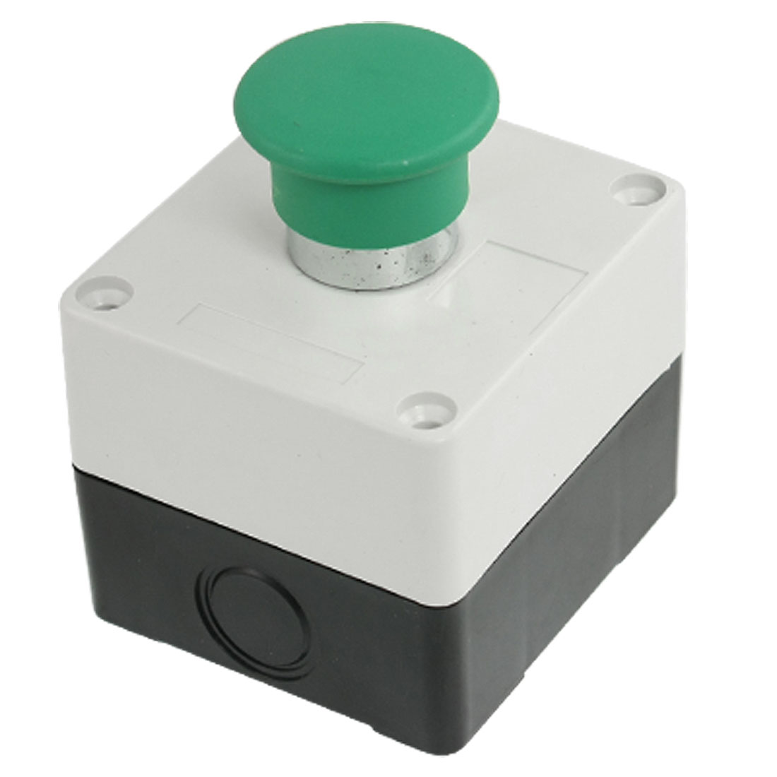 AC 240V 3A Normally Open Green Mushroom Momentary Push Button Switch