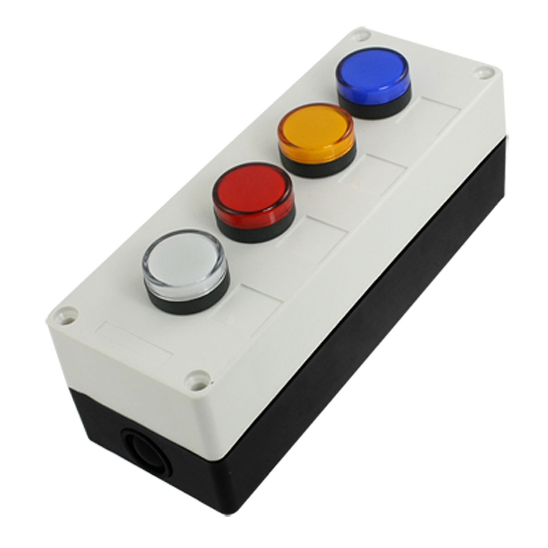 AC 220V LED Red Green Yellow White Signal Indicator Light Station