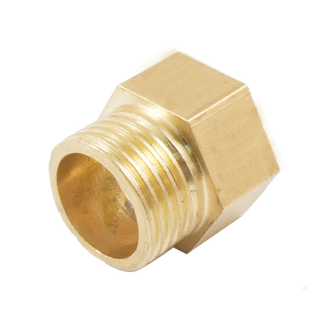Pipe Reducer 20 x 19mm Brass Hex Bushing Hose Joint Connector