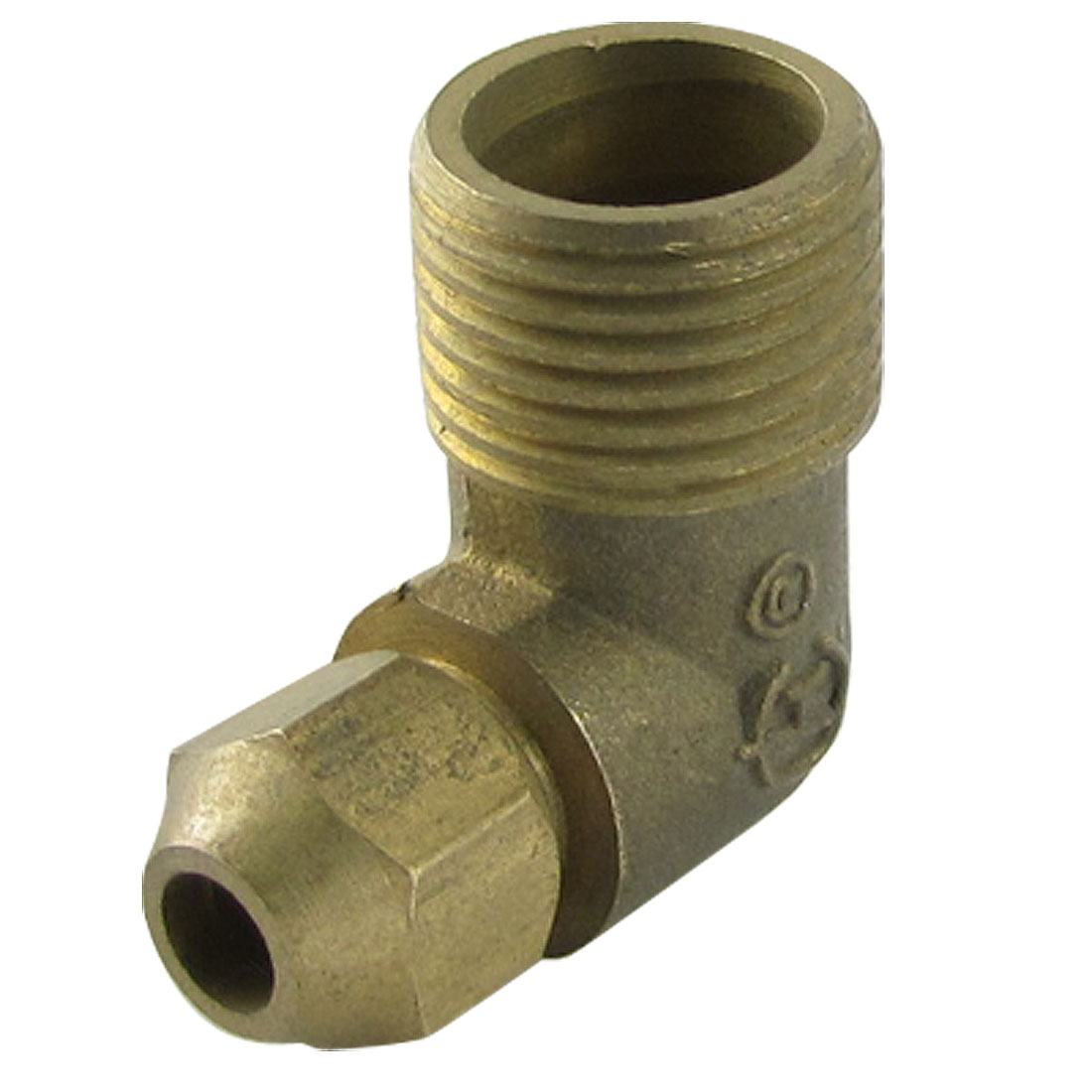 "4/5"" Dia Male Thread Brass Pipe Hose Adapter Coupler"