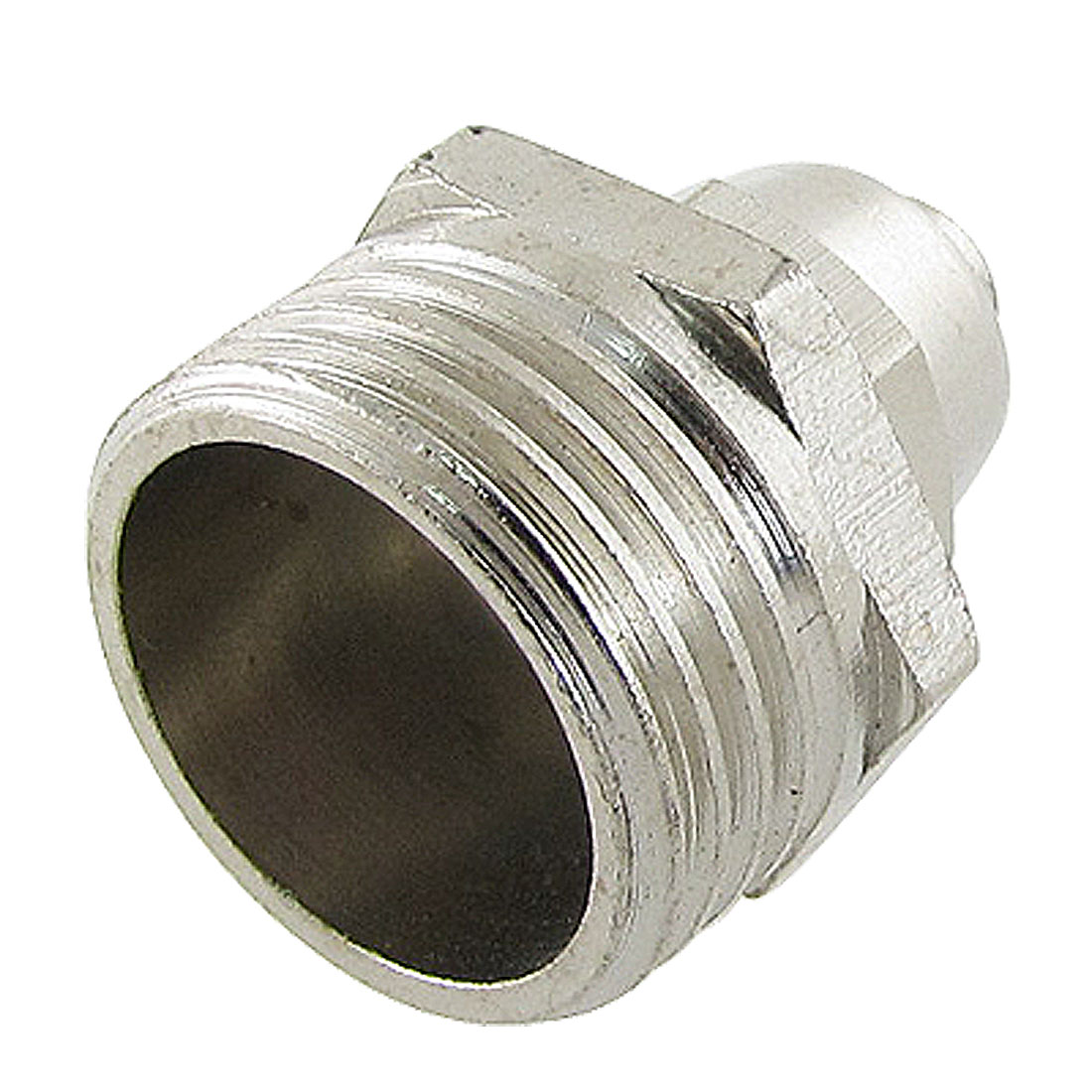 "Metal 4/5"" Male Thread 15/64"" x 5/16"" Air Hose Straight Quick Coupler Fitting"