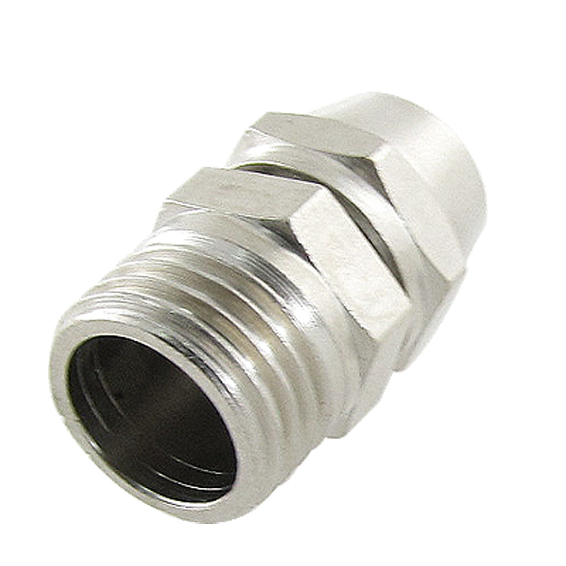 12.7mm Male Threaded 5mm x 8mm Air Hose Tube Straight Quick Coupler Fitting