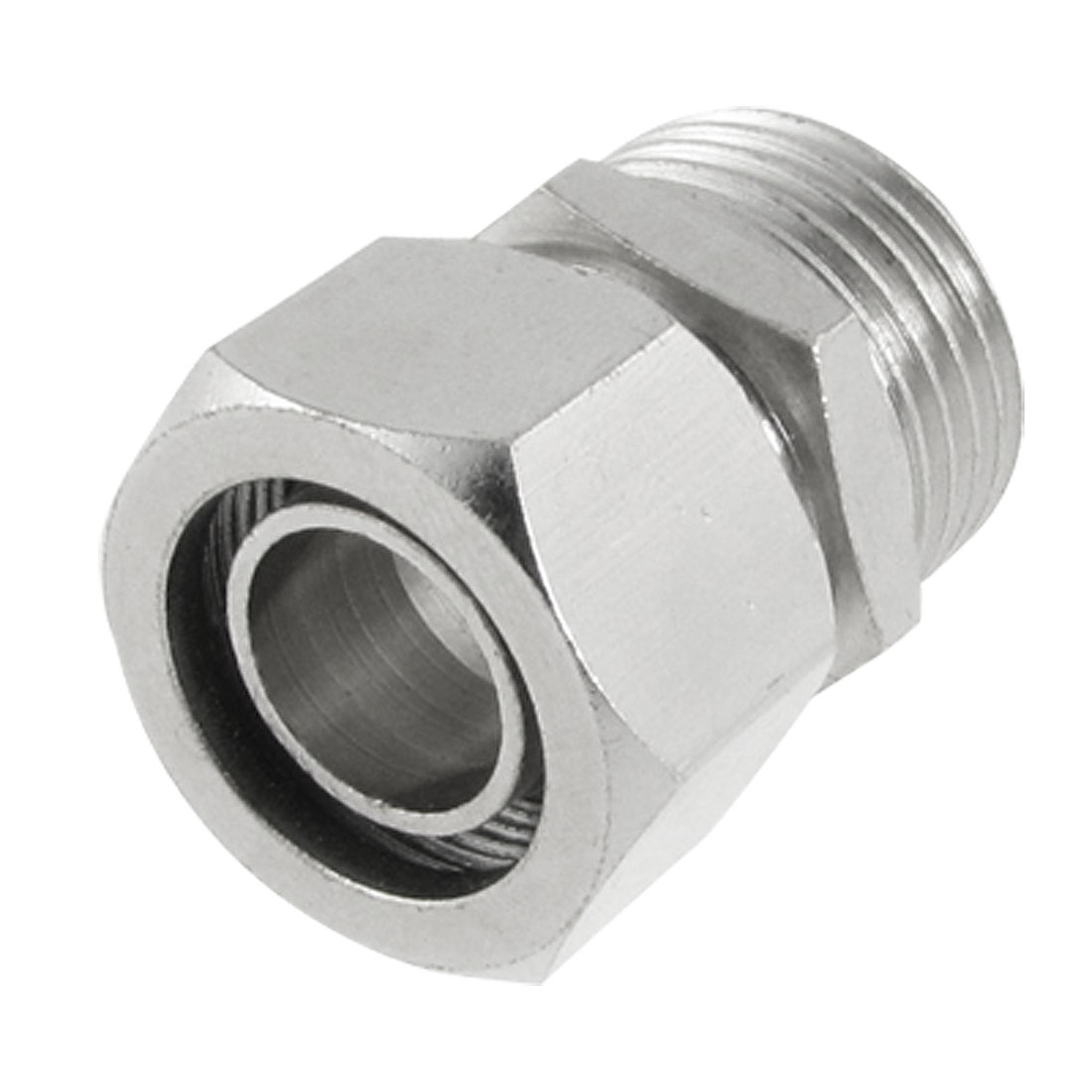 "4/5"" Male Thread Pneumatic Air Fitting Quick Connector Coupler for 1/2"" x 5/8"" Tube"