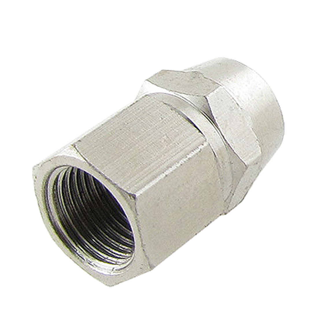 "5/32"" x 15/64"" Tube Pneumatic Air Quick Coupling Straight Adapter 1/3"" Female Thread"