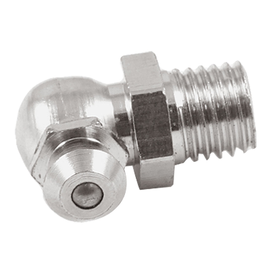 8mm M8 Male Thread 90 Degree Angle Grease Nipple Zerk Fitting