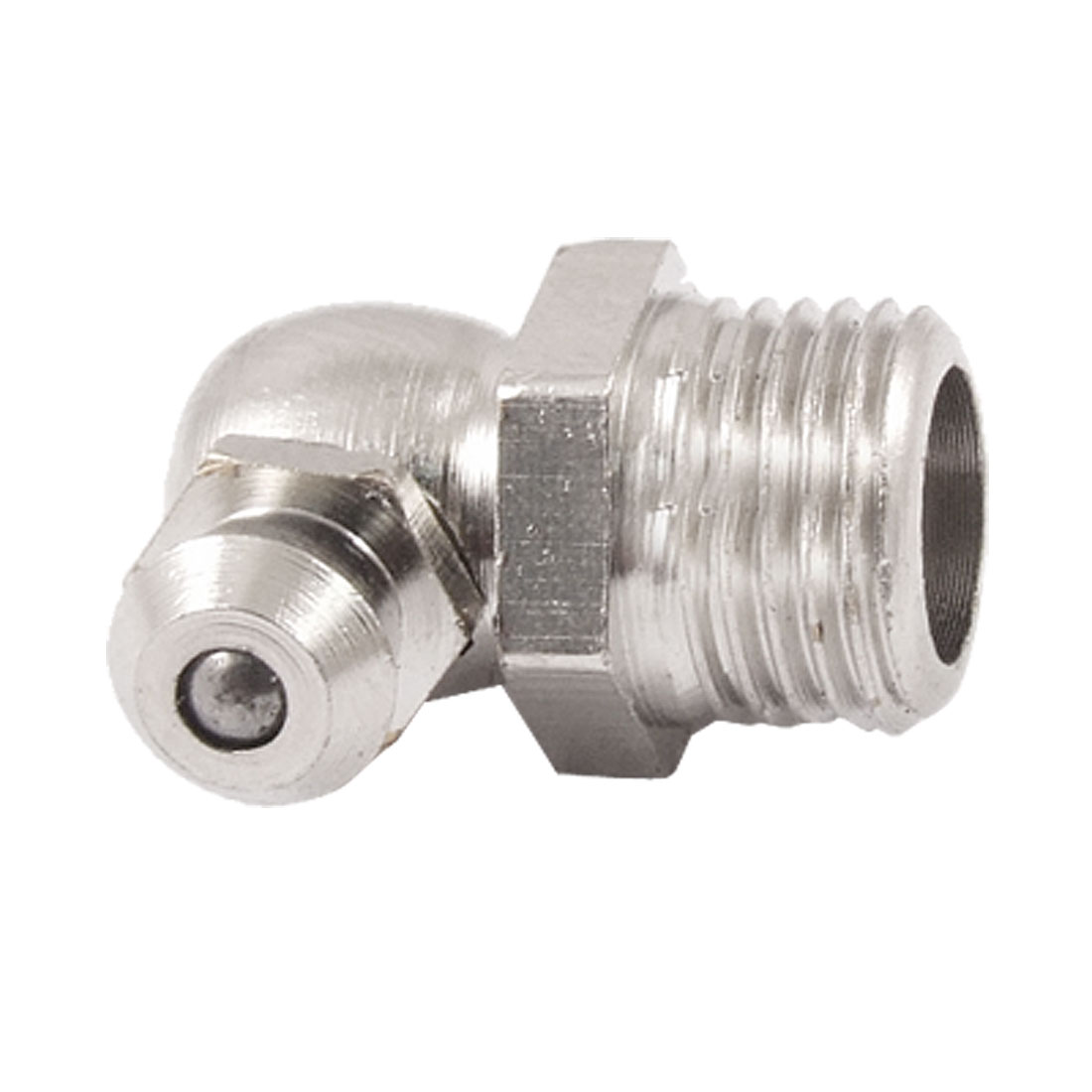 Metal 9.6mm Male Thread 90 Degree Angle Grease Nipple Zerk Fitting