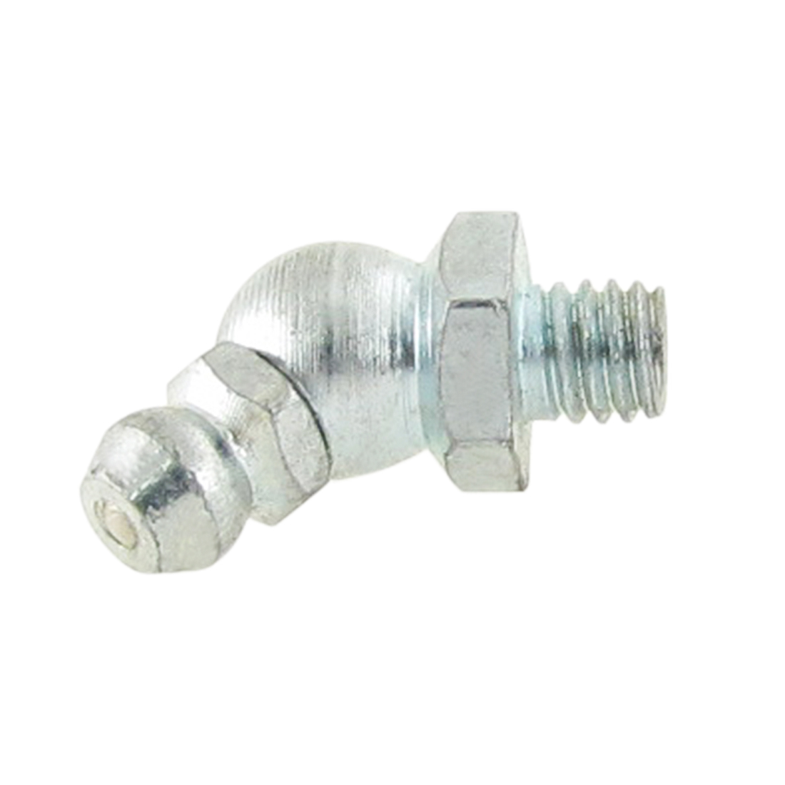 Metal 45 Degree Angle Type 6mm M6 Grease Nipple Zerk Fitting