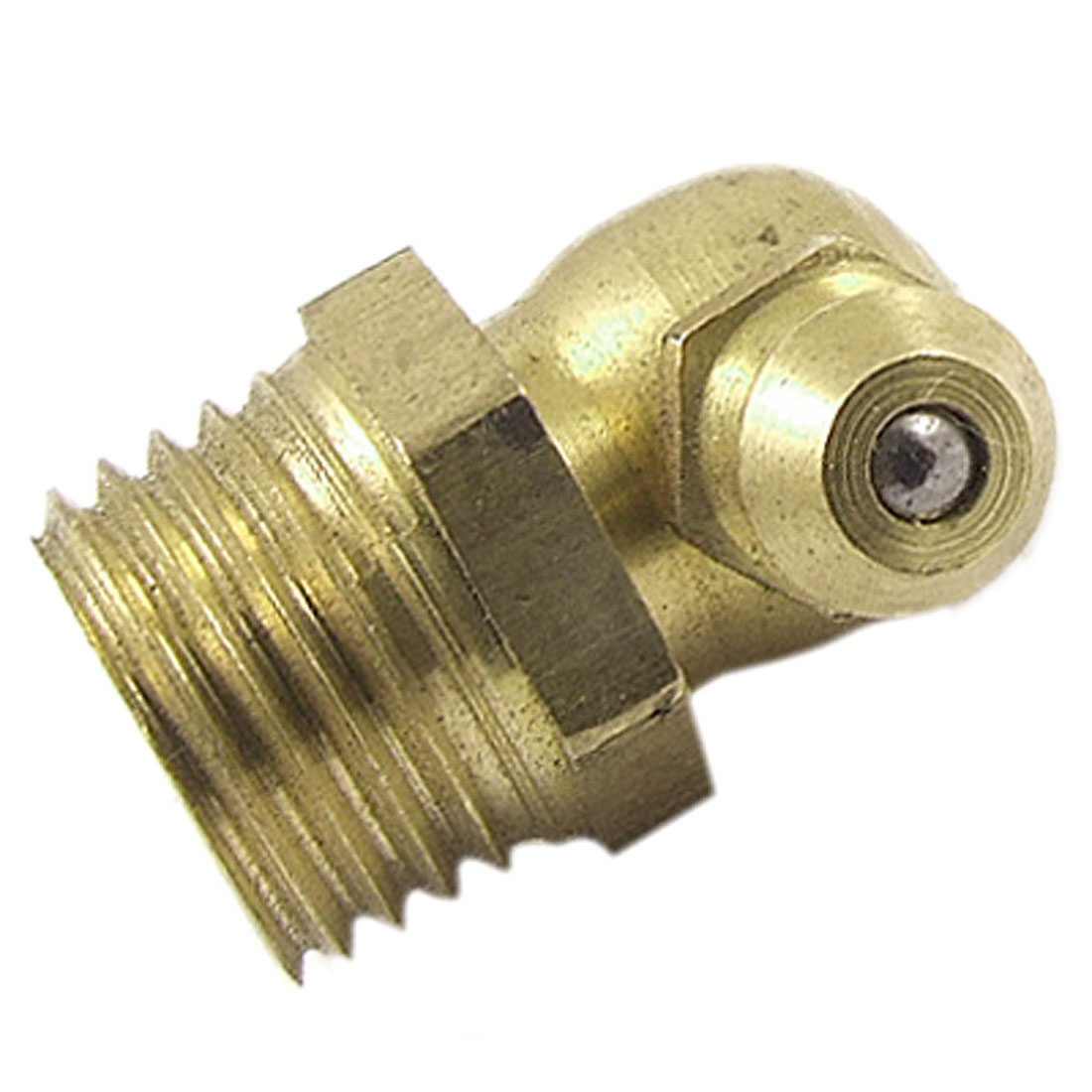 M12 Male Thread 90 Degree Angle Grease Nipple Brass Zerk Fitting