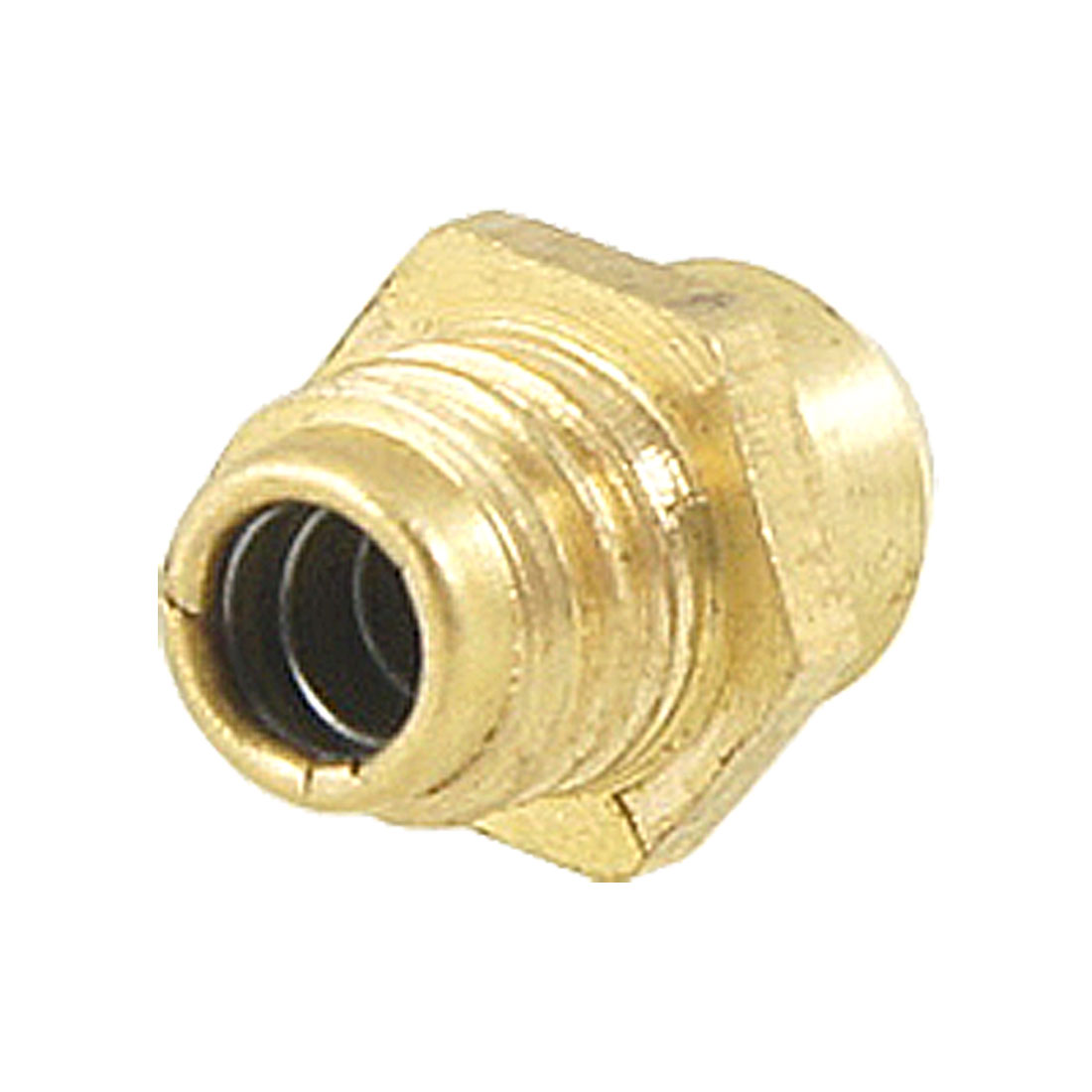 Brass M6 Male Thread Straight Hydraulic Grease Nipple Fitting