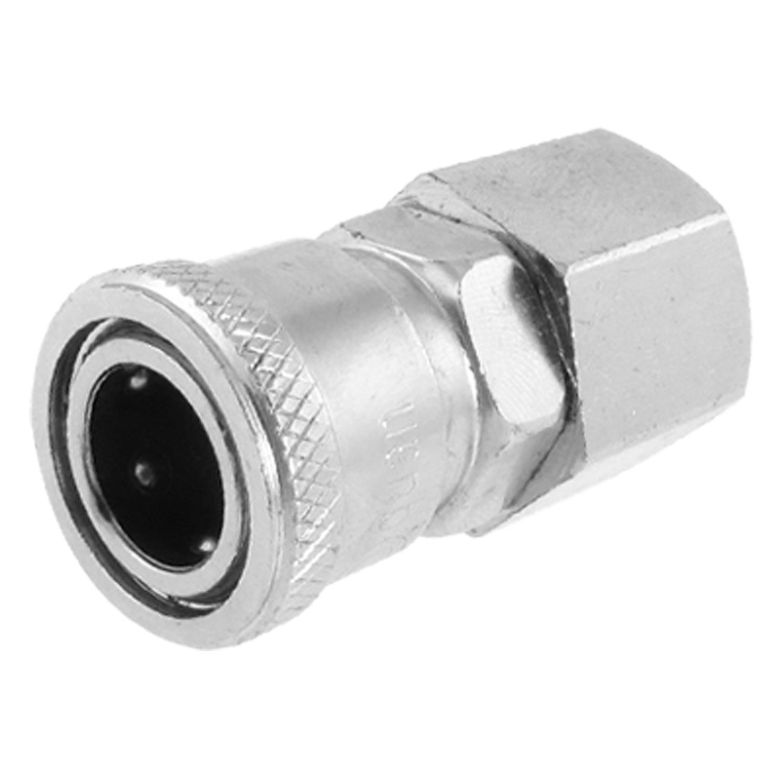 "40SF Female Thread Pneumatic Quick Disconnect Coupler Socket for 47/64"" Piping"