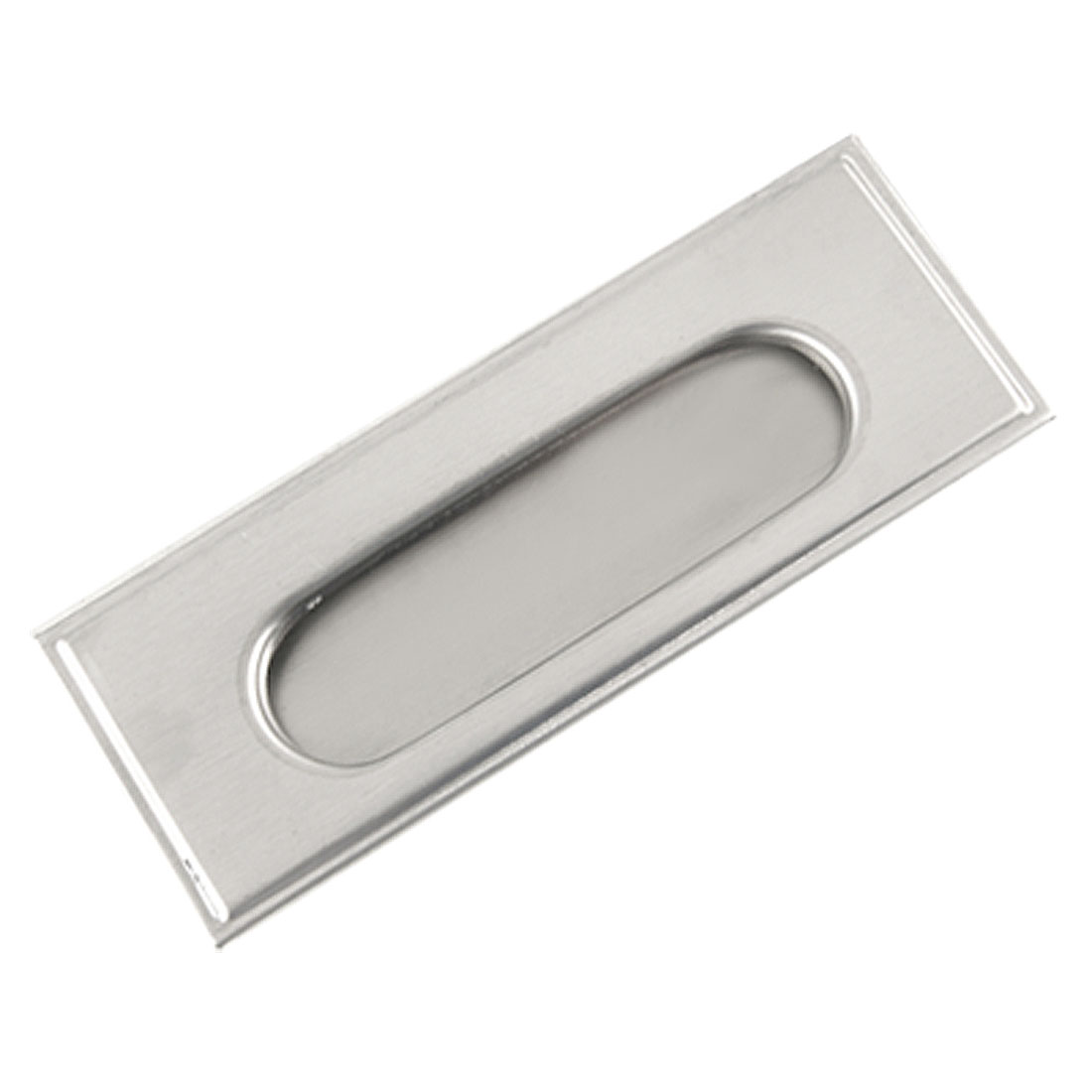 Sliding Door Cabinet Drawer Stainless Steel Recessed Flush Pull 108mm x 4mm