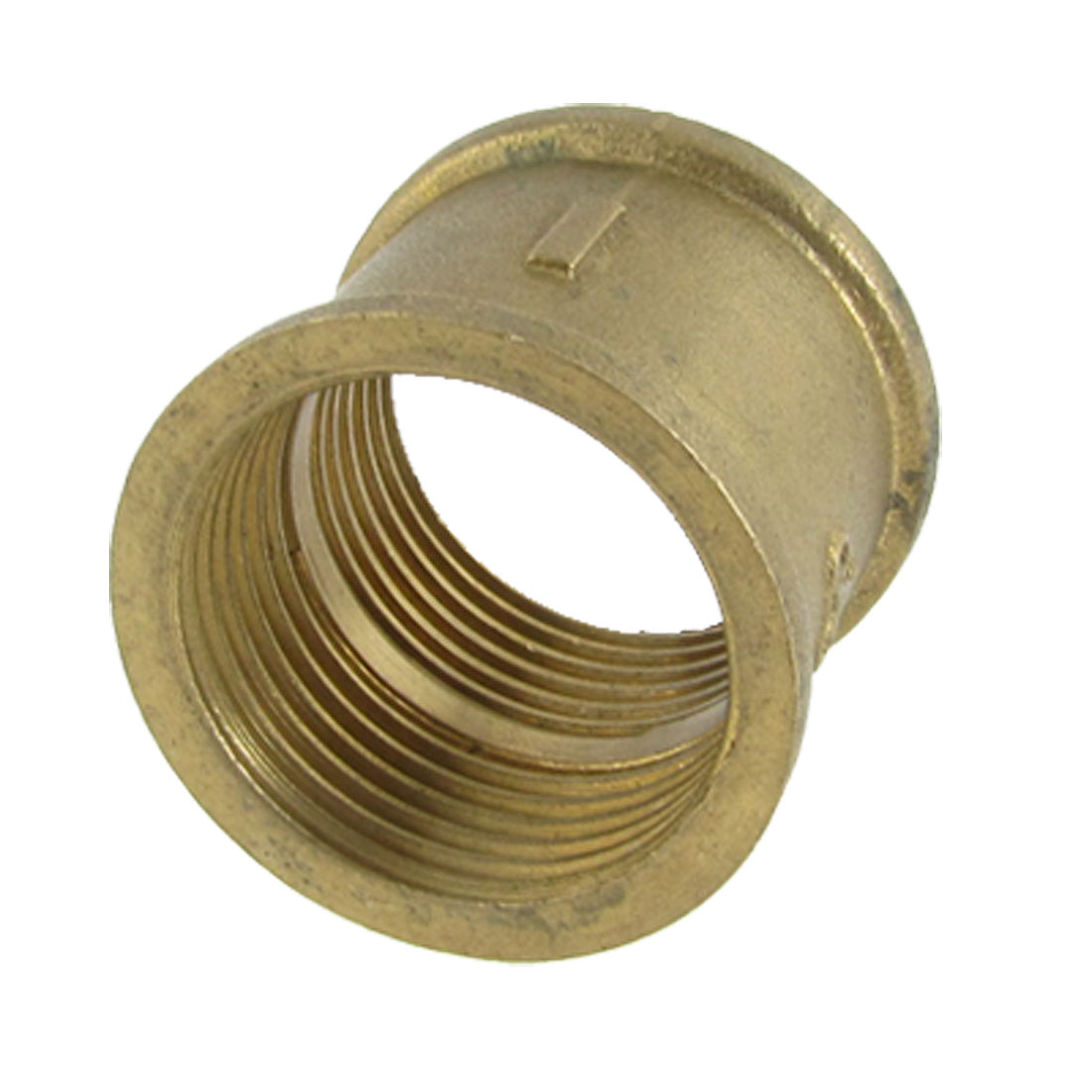 """1 1/5"""" Female Thread Brass Straight Coupling Connector for Water Air Fuel Pipe"""