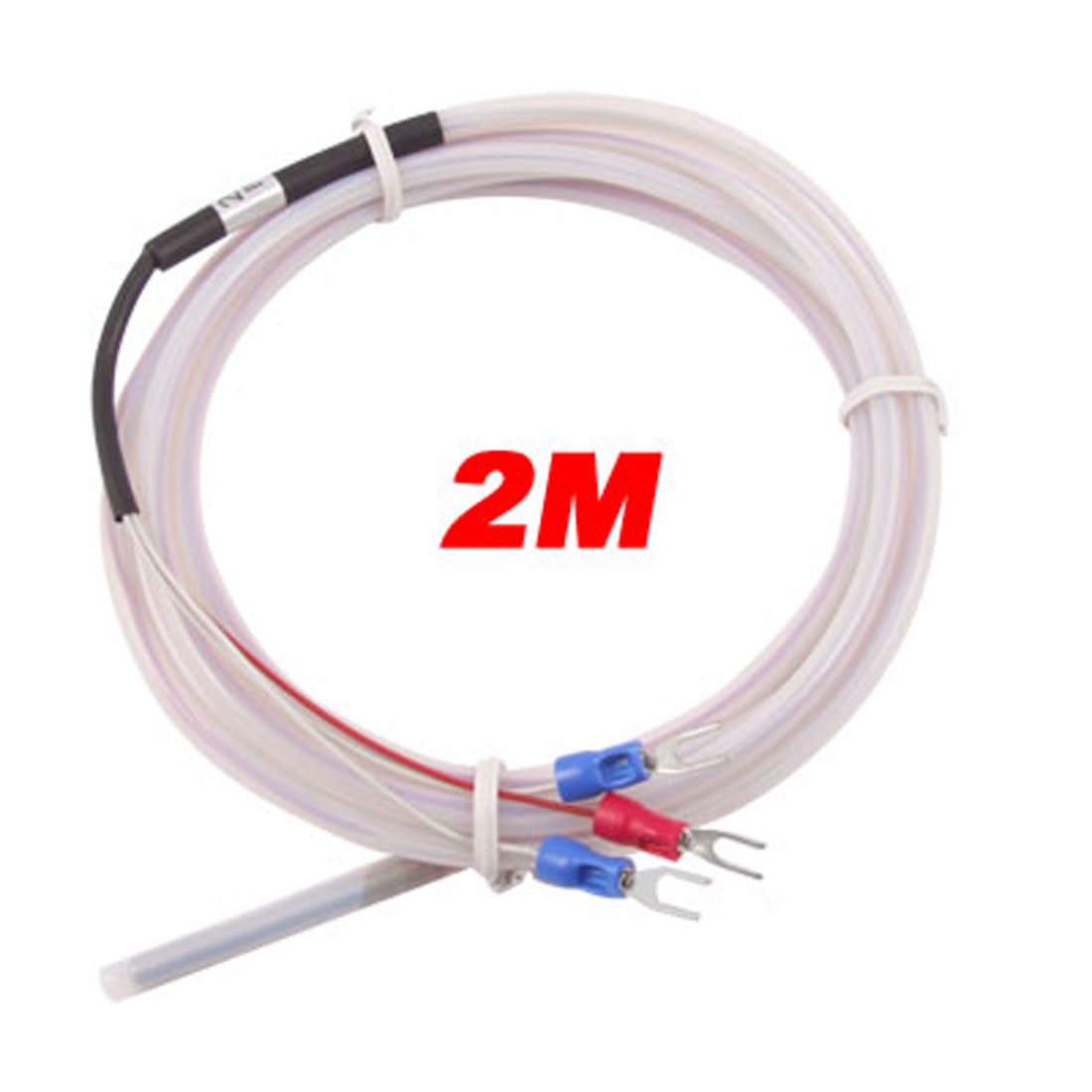 PT100 Temperature Control Insulated Thermocouple Probe