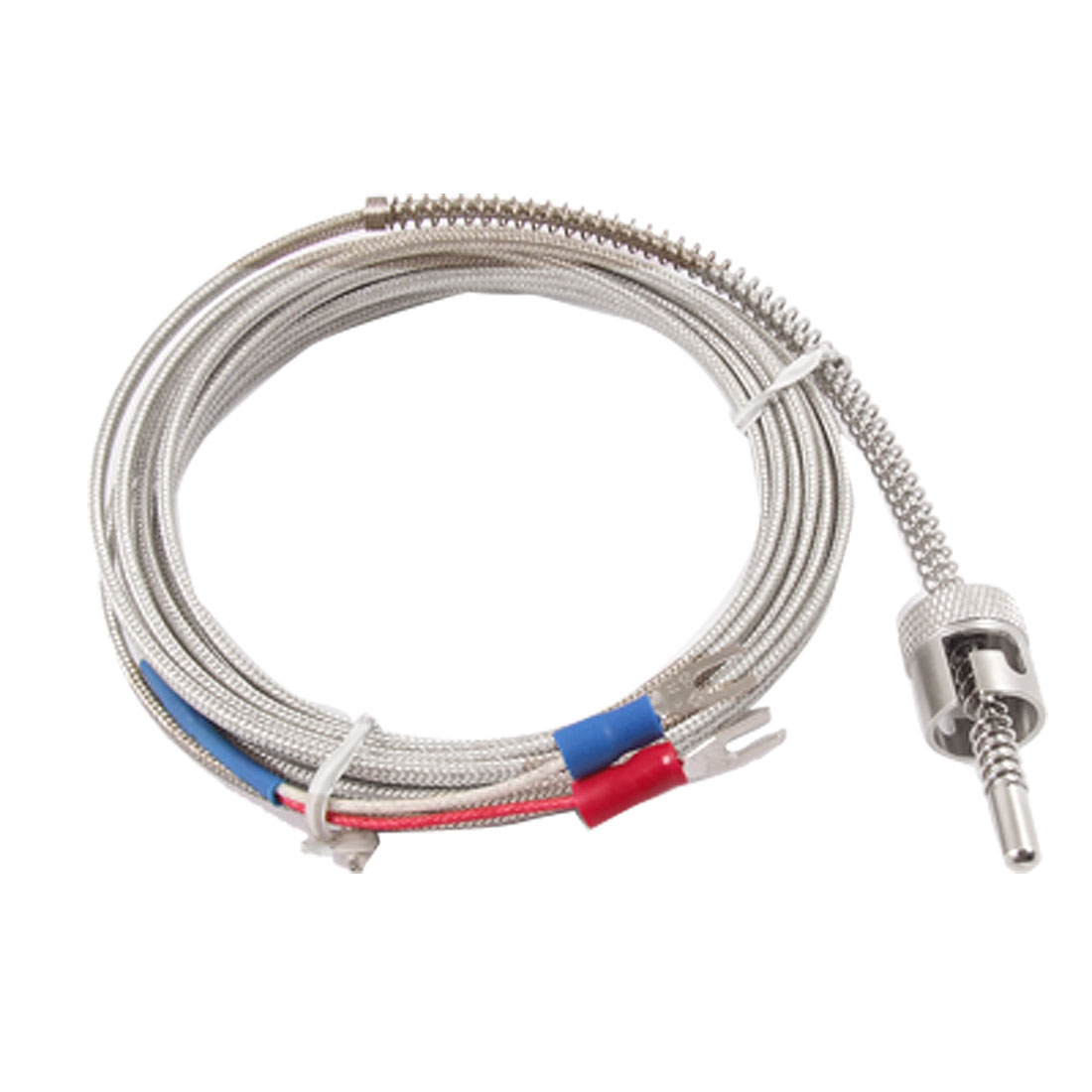 "118"" Cable Temperature Control Sensor K Type Thermocouple Probe"