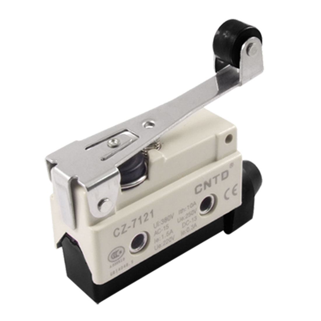 CZ-7121 Ui 380V Ith 10A Long Hinge Roller Lever Enclosed Limit Switch