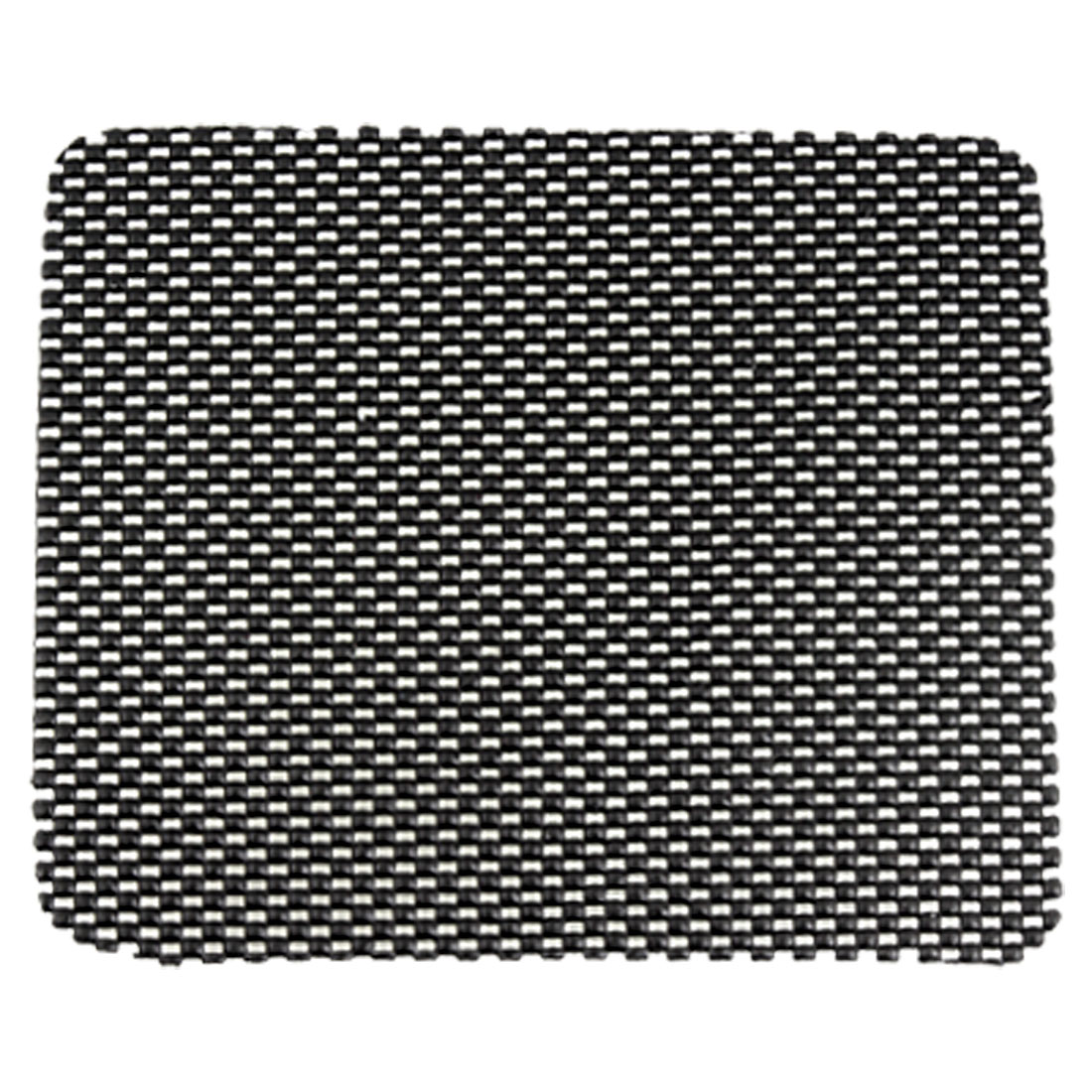 Auto Car Dashboard Mesh Style Rectangular Black PVC Foam Nonslip Mat