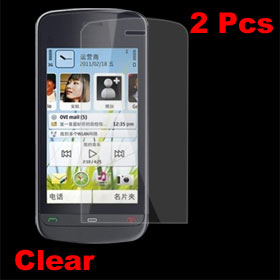 2 x Clear Screen Cover Protective Film for Nokia C5-03