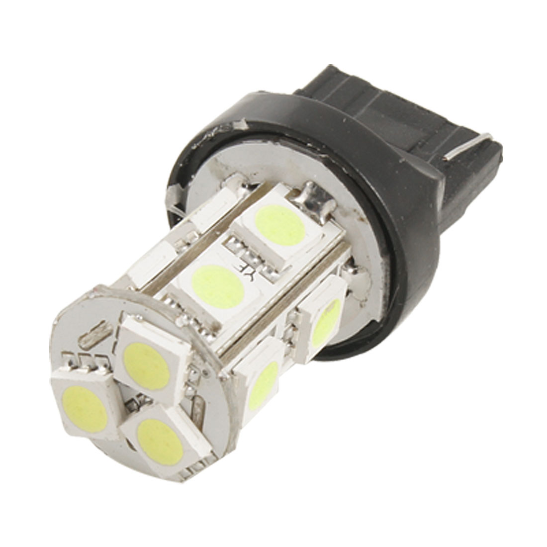 T20 Base 13 5050 SMD LED White Wedge Light Parking Lamp Bulb for Car
